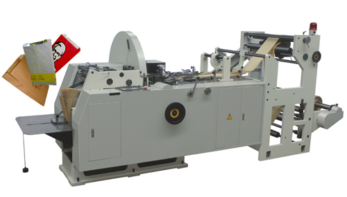 Fast Food Paper Bag Making Machine